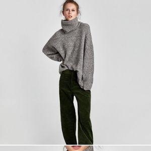 Zara Knit oversize turtleneck sweater